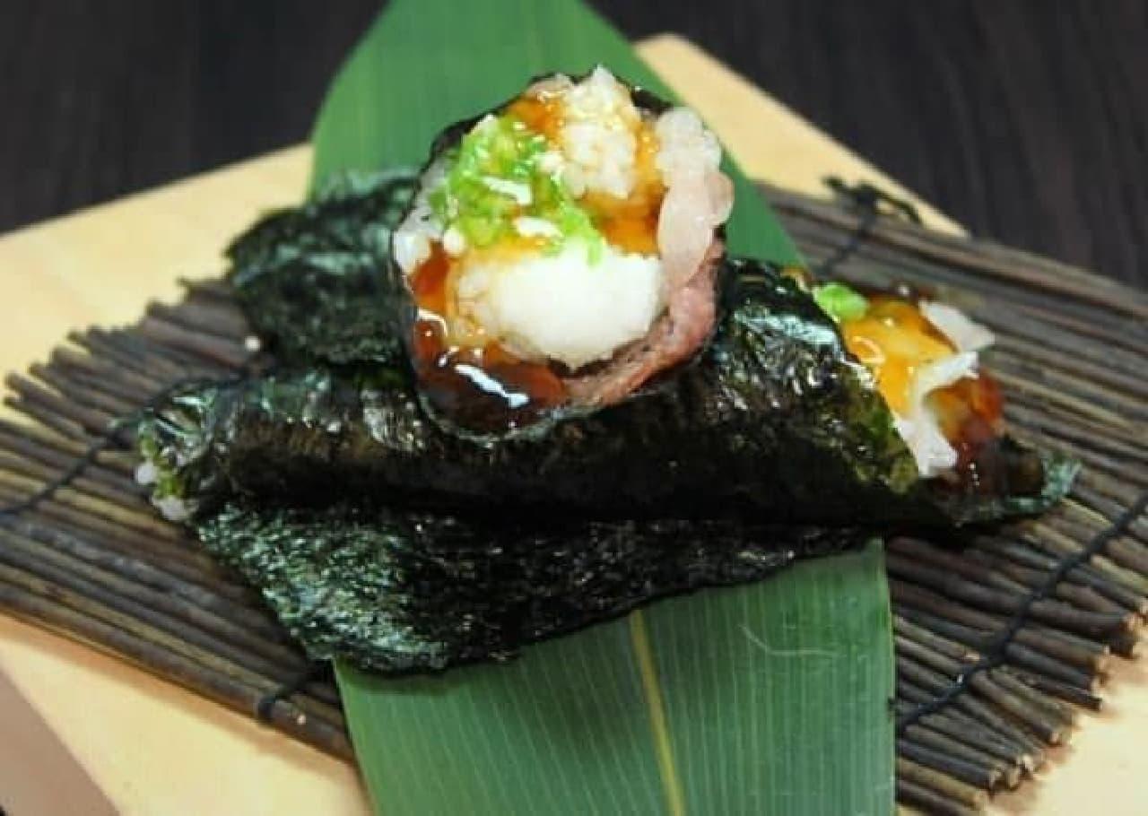 お弁当に手巻き寿司ってなかなか斬新!