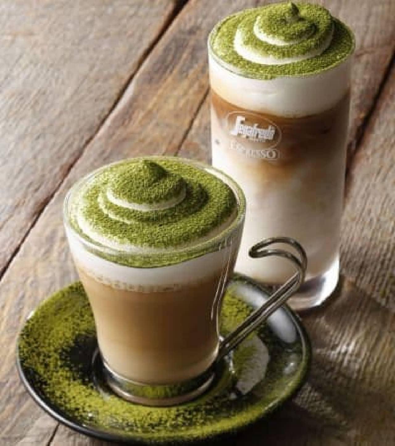 普通の抹茶ラテとは違う!?  セガフレードの「抹茶カフェラテ」