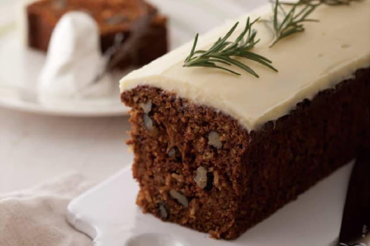 イギリスの伝統菓子「キャロットケーキ」