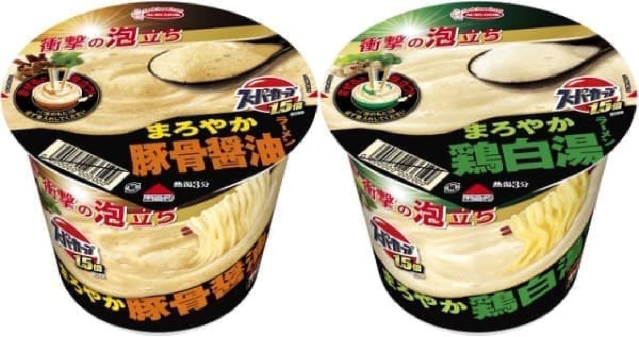 """""""スープが泡立つ""""カップ麺!?"""