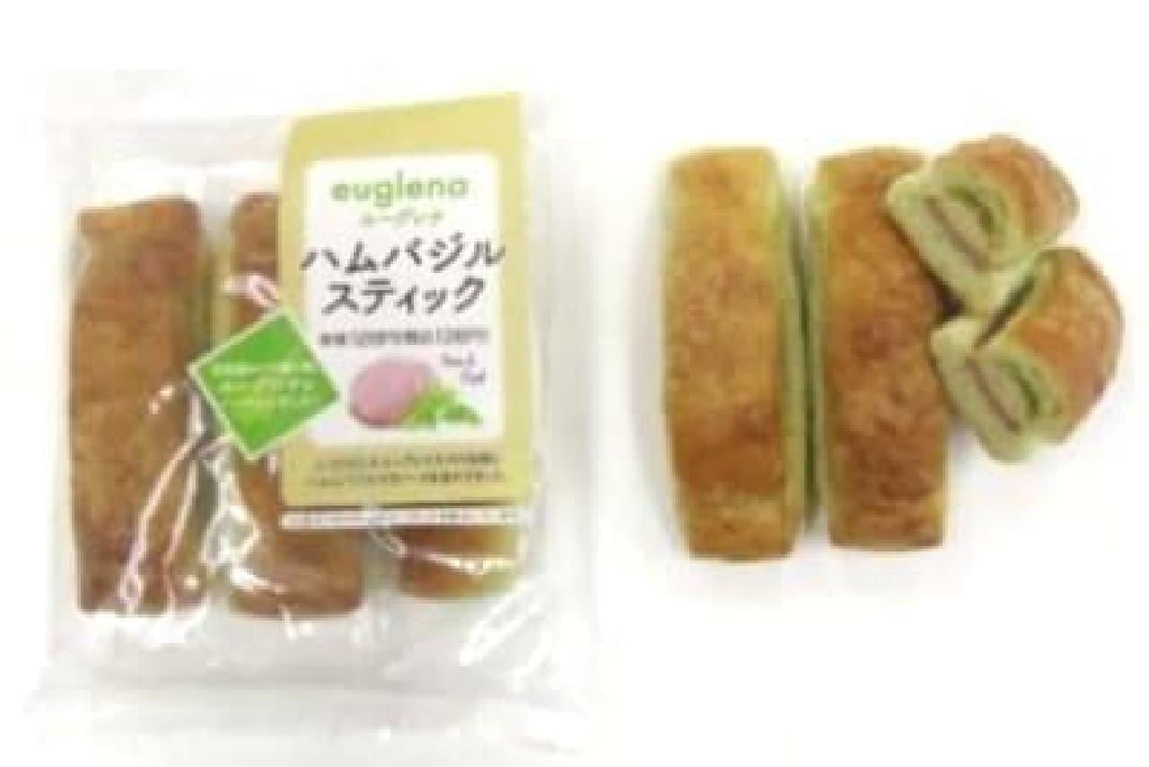 """""""ミドリムシ""""入りのパンが登場!"""