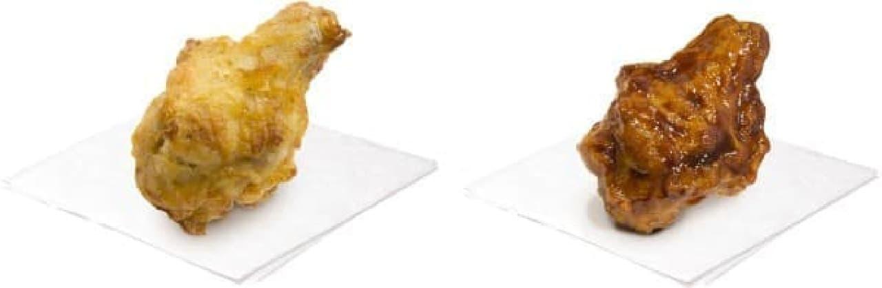 プレーン(左)とバーベキュー(右)