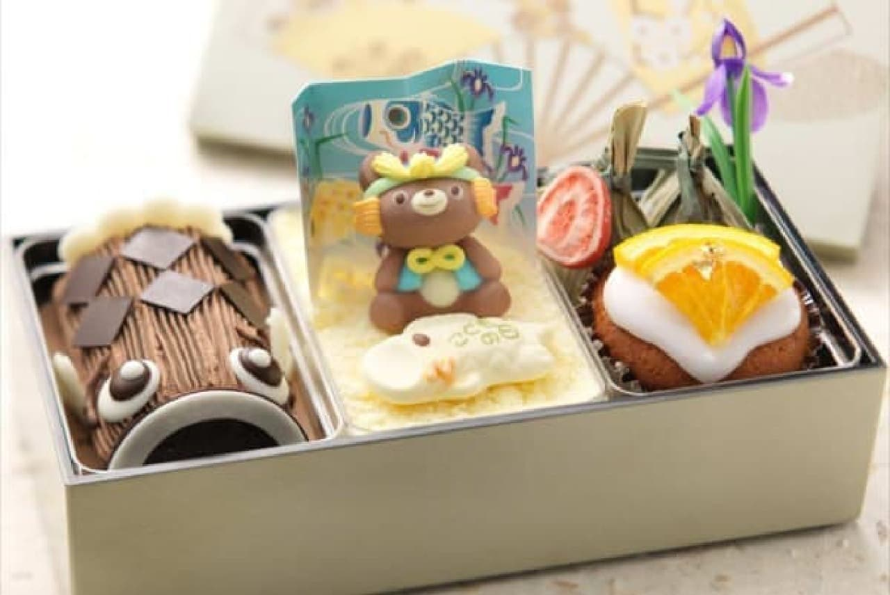 こいのぼりのケーキ入り「こどもの日スイーツ BOX」