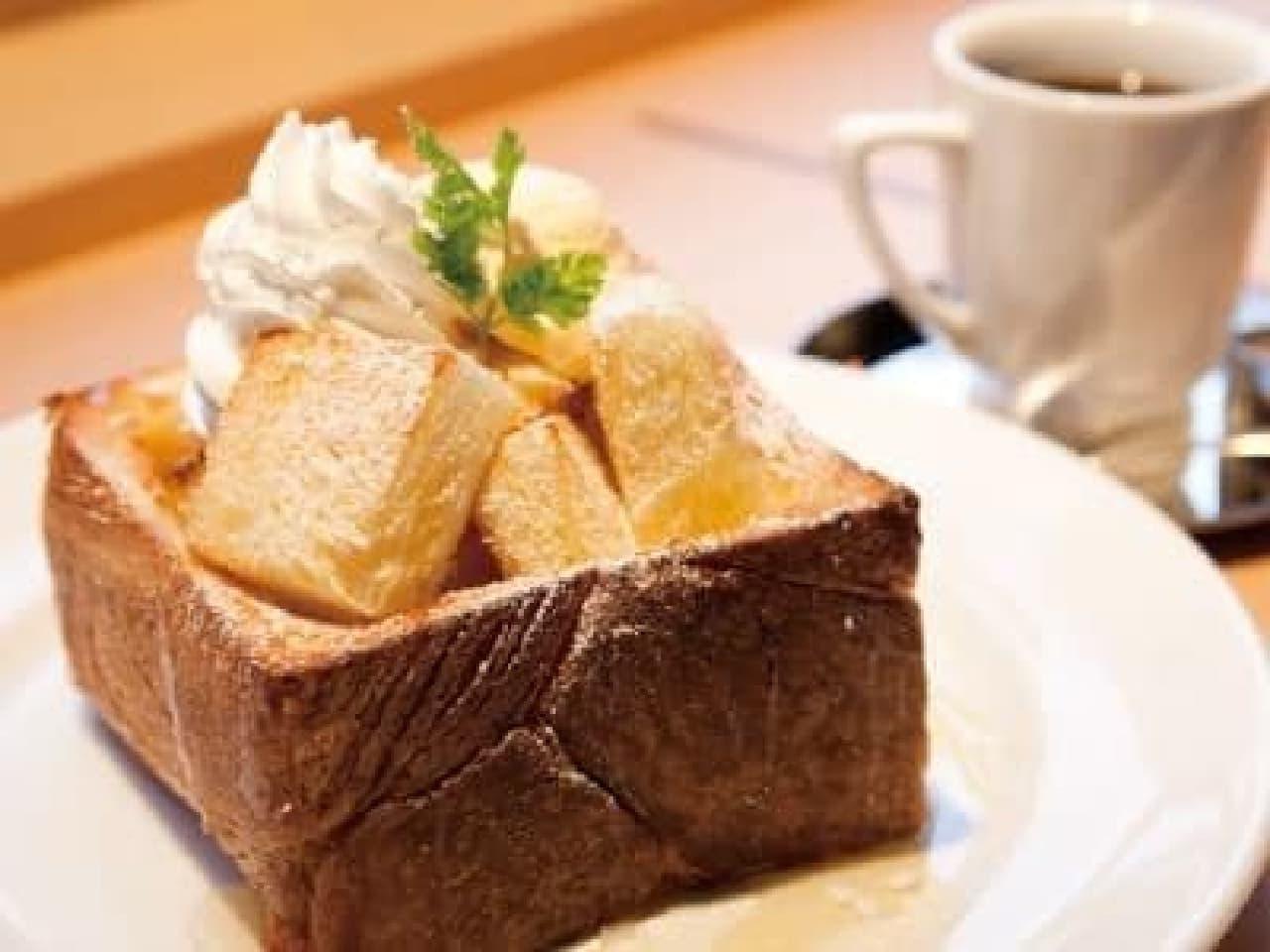 高級デニッシュパン「MIYABI(ミヤビ)」が楽しめるカフェ