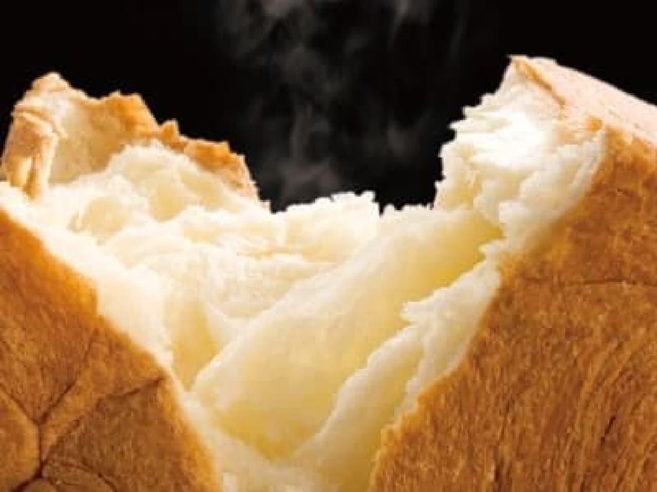 サクサクふわふわのデニッシュ食パン「ミヤビ」