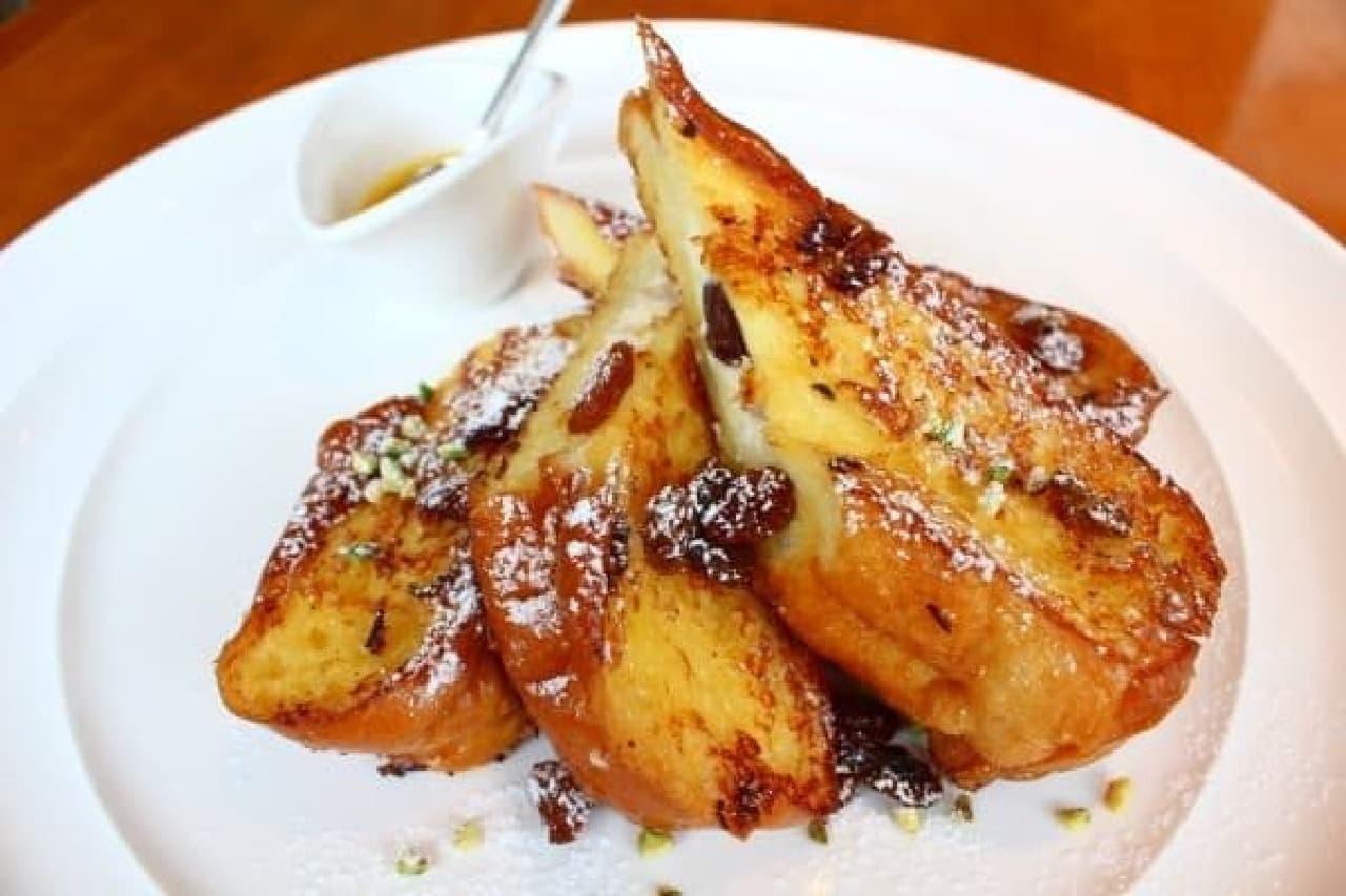 初夏の昼下がりに食べたい「カンノーリフレンチトースト」