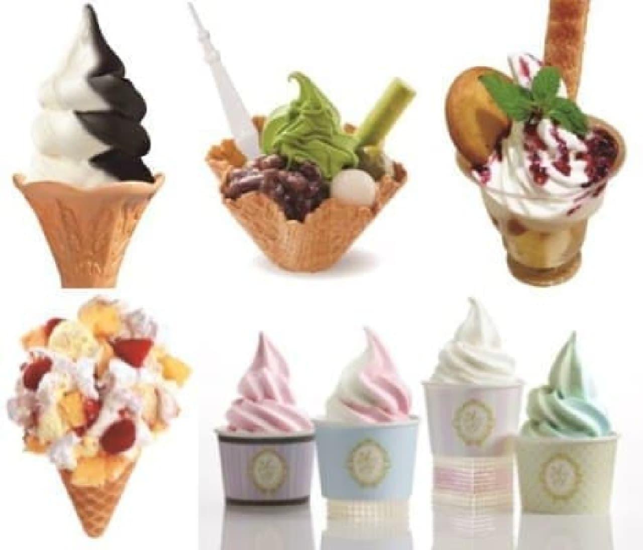 総勢20店舗が参加!「東京ソラマチ アイスクリームコレクション」