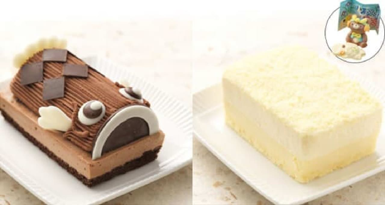ルタオの人気チーズケーキ「ドゥーブル」も(右)