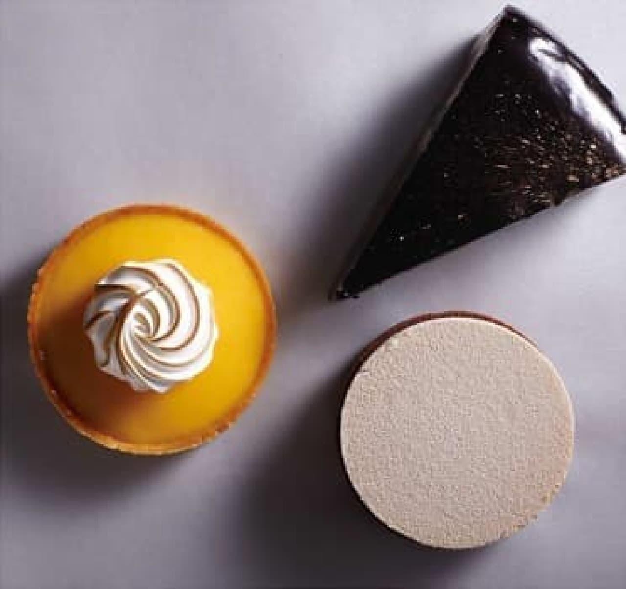 「MORI YOSHIDA」とコラボしたケーキ3種