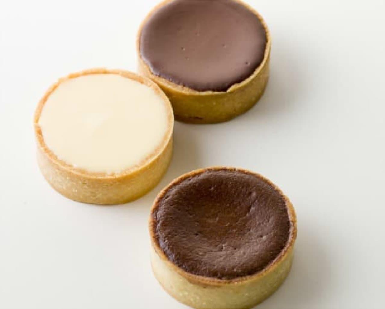 なめらかな生チョコフィリングのタルト