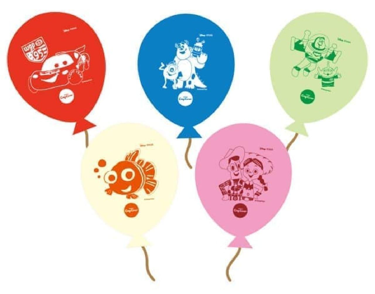 各店先着で風船をプレゼント!