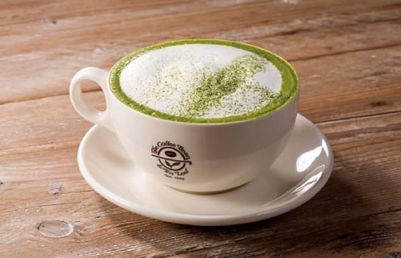 日本限定ドリンク「抹茶カプチーノ」  (出典:The Coffee Bean & Tea Leaf 公式サイト)