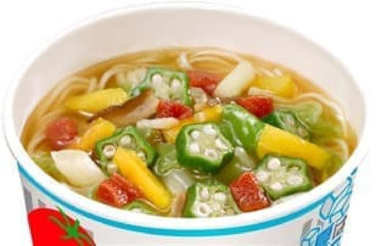 彩り豊かな夏野菜たっぷり!