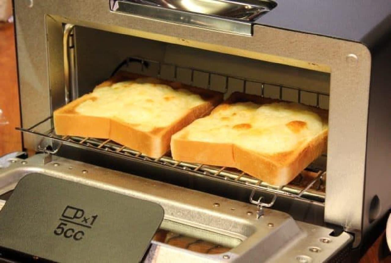 冷凍したパンもおいしく焼けるんだって
