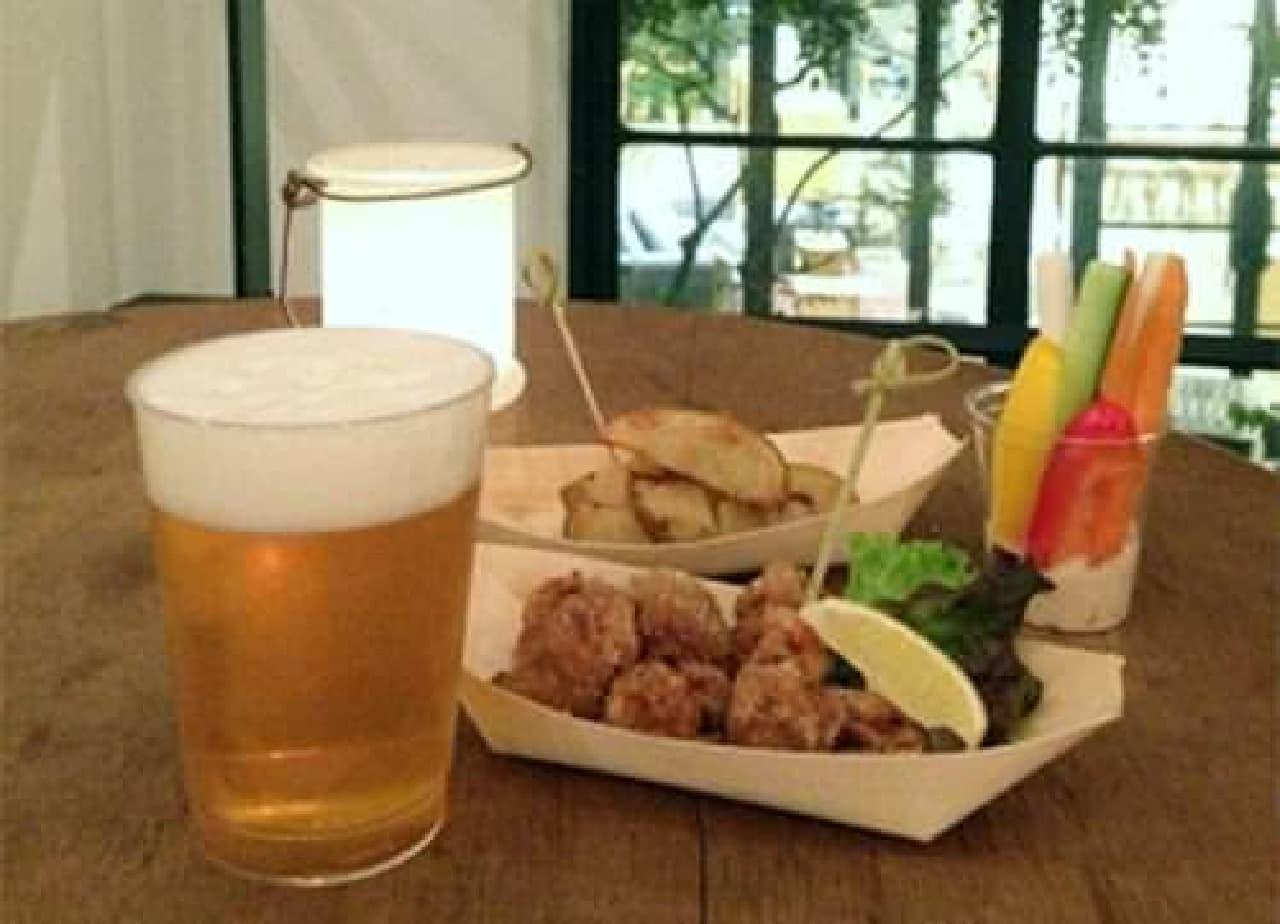 """クラフトビールと""""ヘルシー""""な野菜料理を楽しむ5日間"""