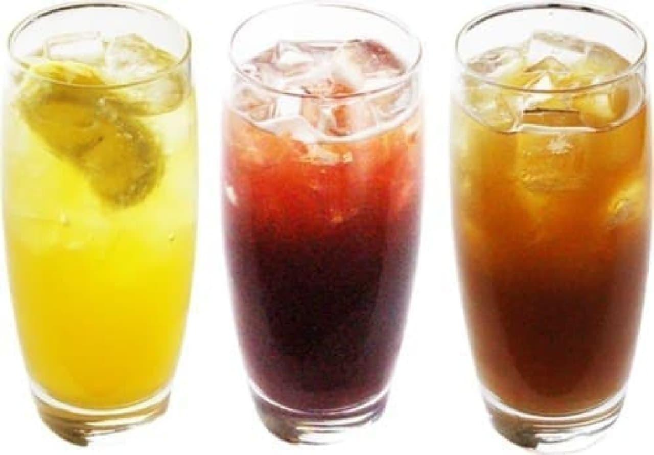 涼しげな見た目は、飲む前からおいしい!