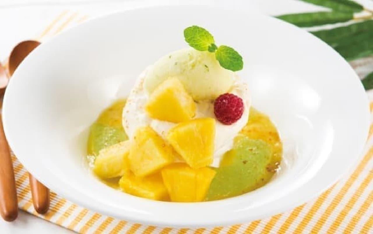 口に入れるとふわっと溶ける、新食感デザート「パブロバ」