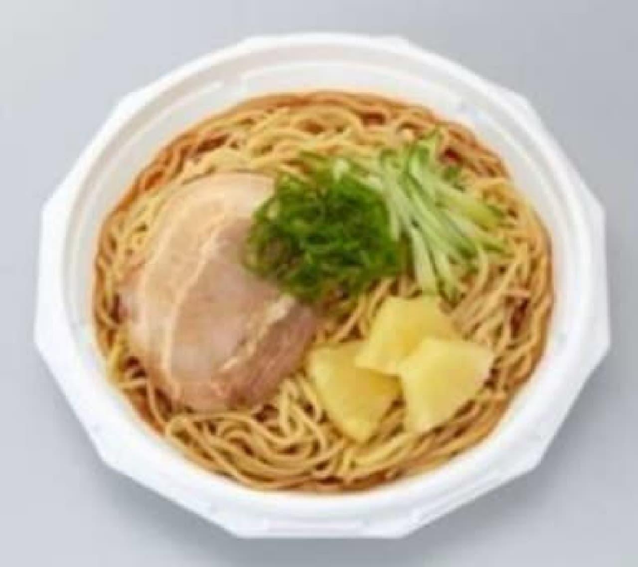 中邑選手の「辛さの答えはこうだ イヤァオ!麺(冷辛麺)」