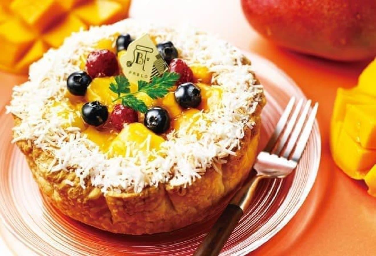 南国の香りゆたかな季節限定チーズタルト!