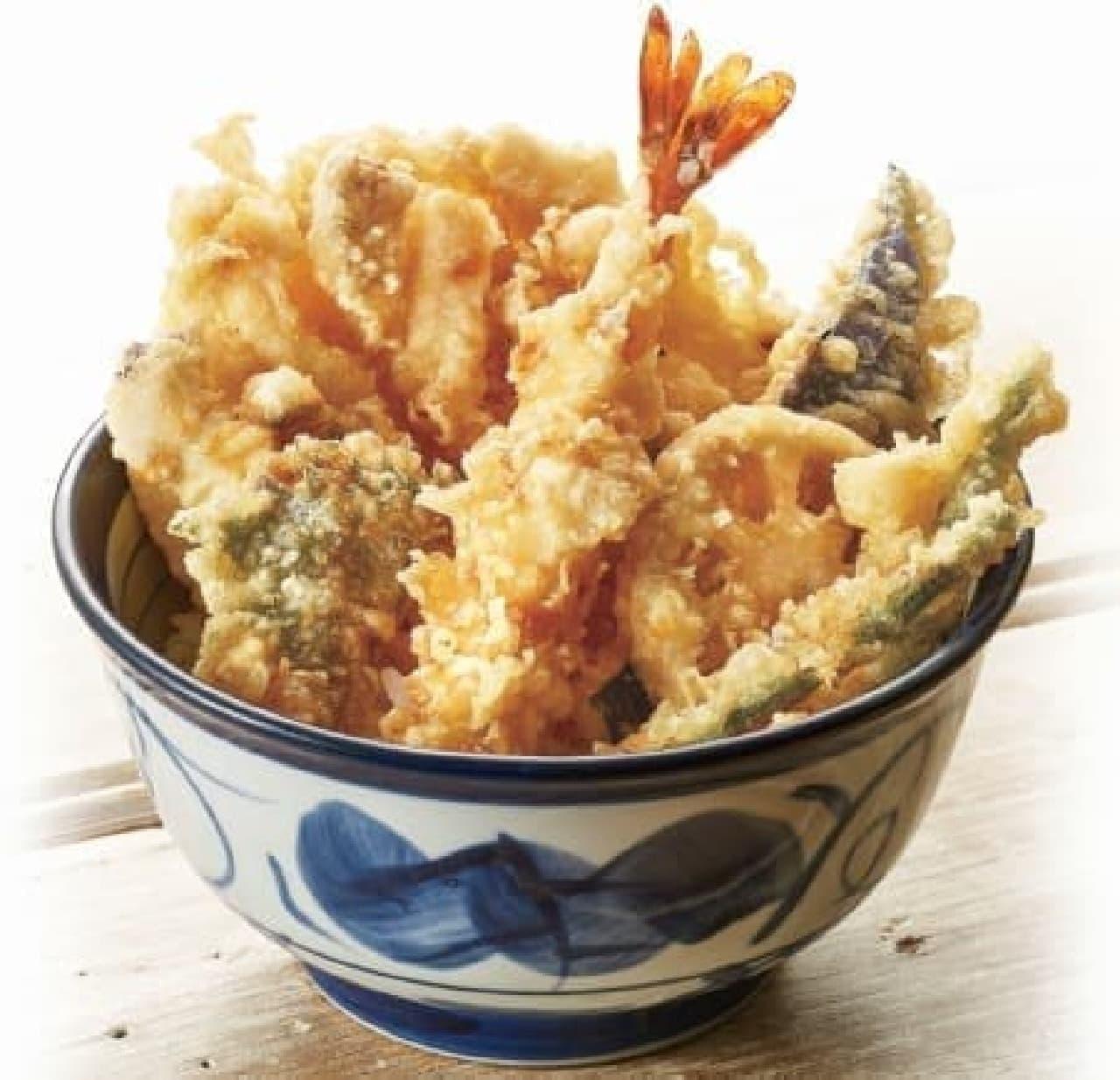 真鯛の上品な味わいを楽しむ天丼
