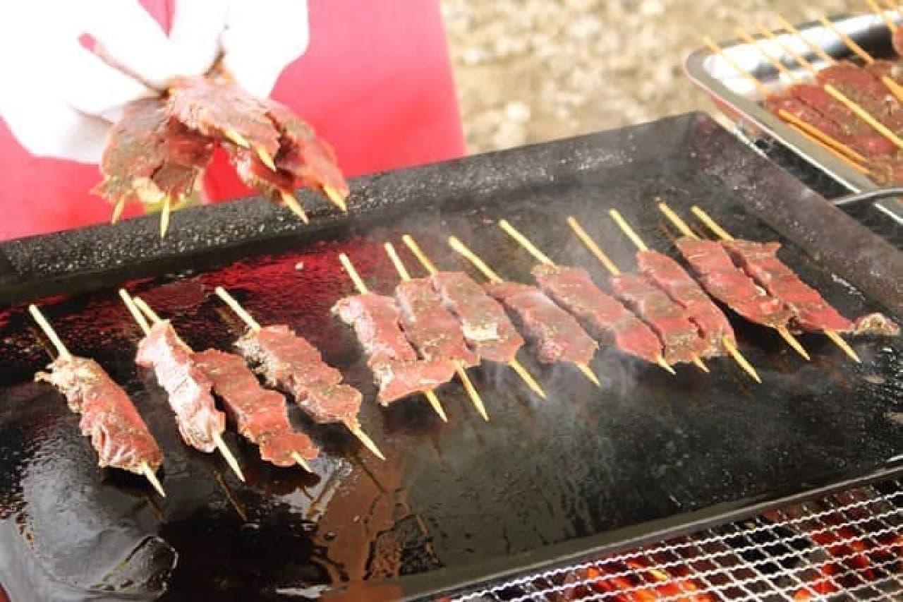 カンガルー肉は脂身が少ない