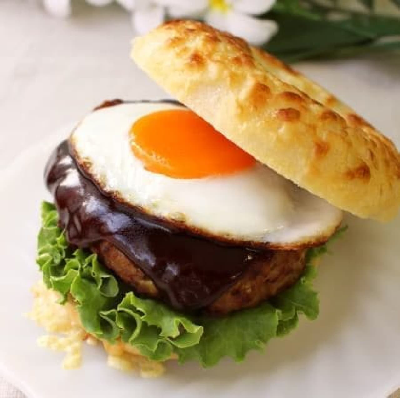 ふわふわハンバーグは一食の価値あり