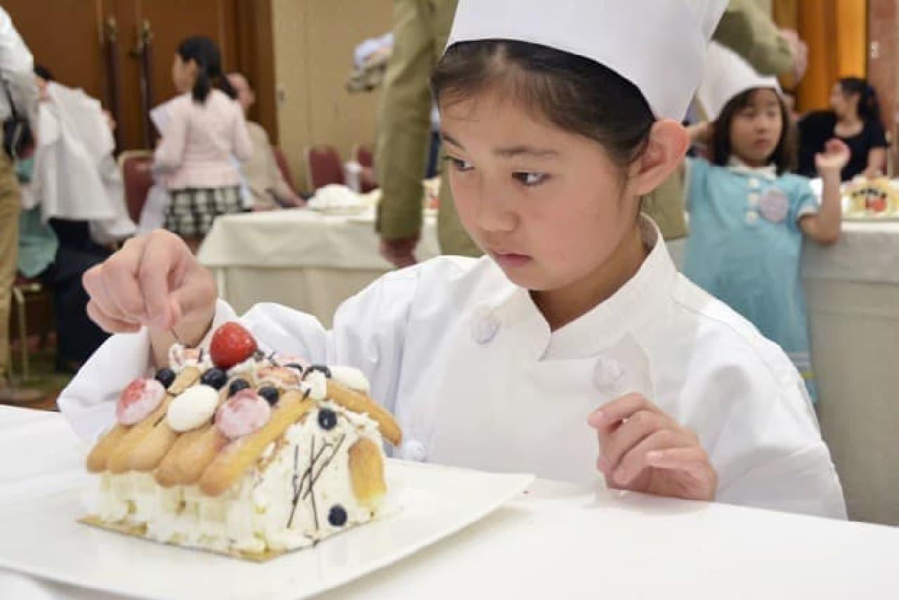 パティシエと一緒にケーキを作ろう!