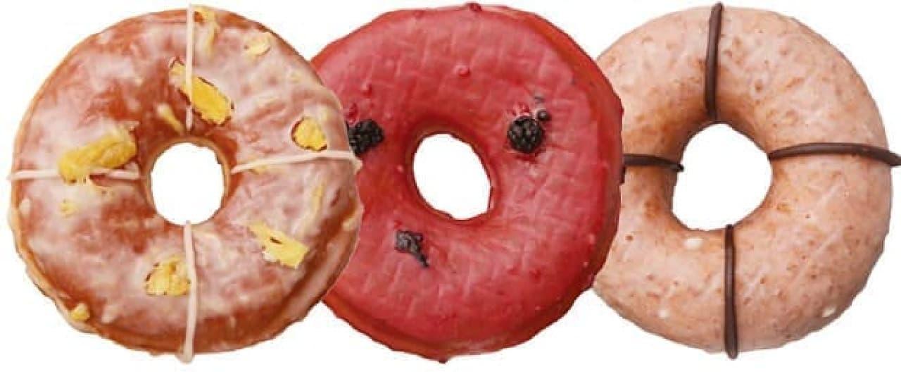 夏らしいトロピカルフルーツのドーナッツ!