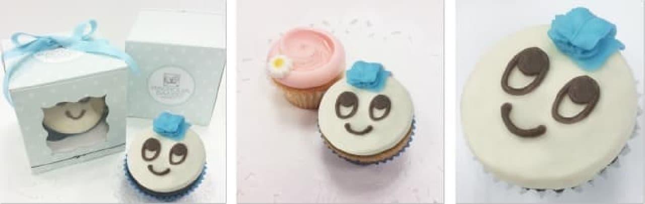 """人気マスコット""""カブレラ""""が甘~いカップケーキに!"""