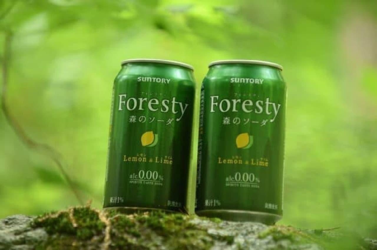 お酒風味のノンアル「フォレスティ 森のソーダ」誕生
