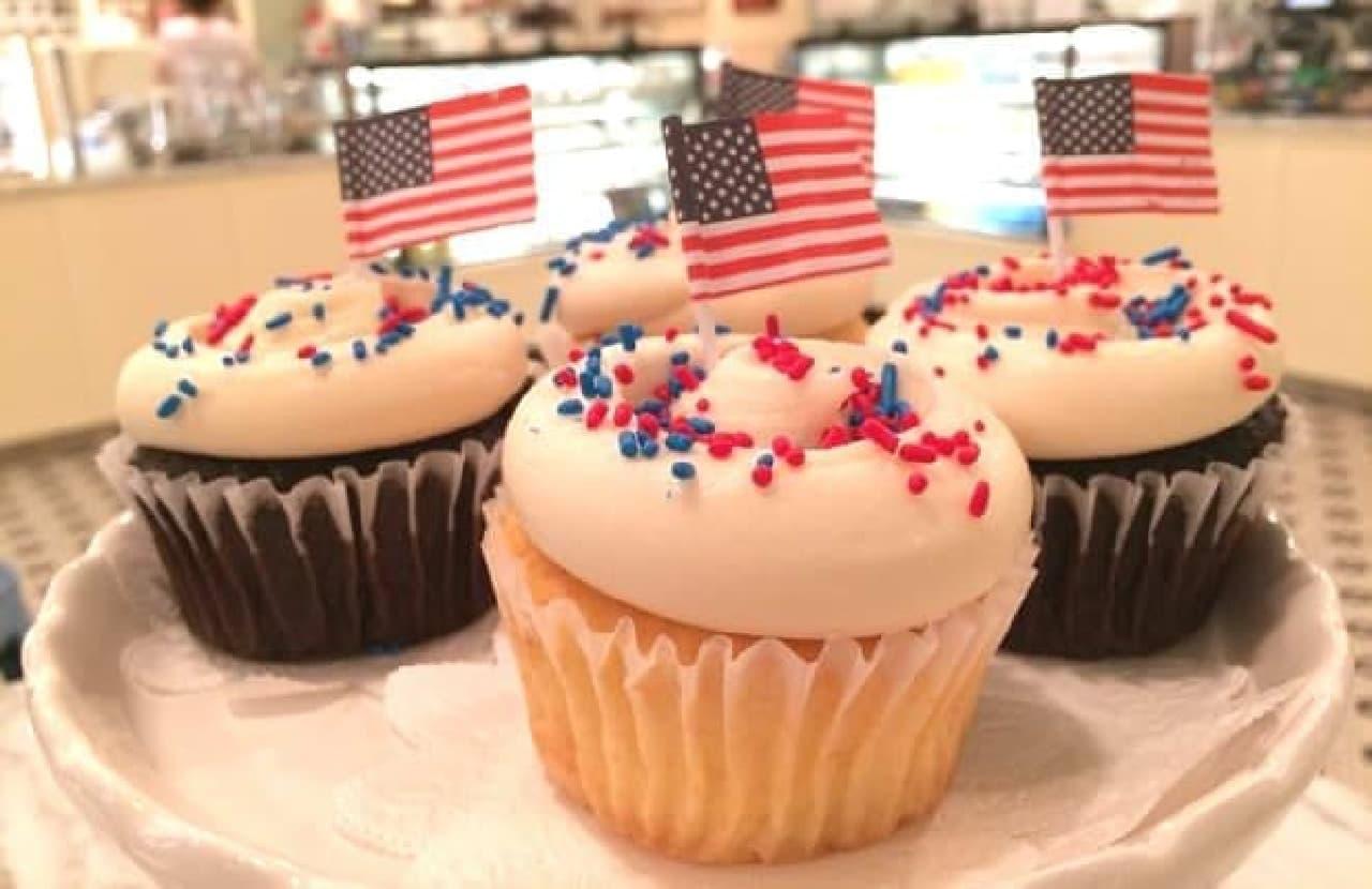 赤×青×白のアメリカンなカラー