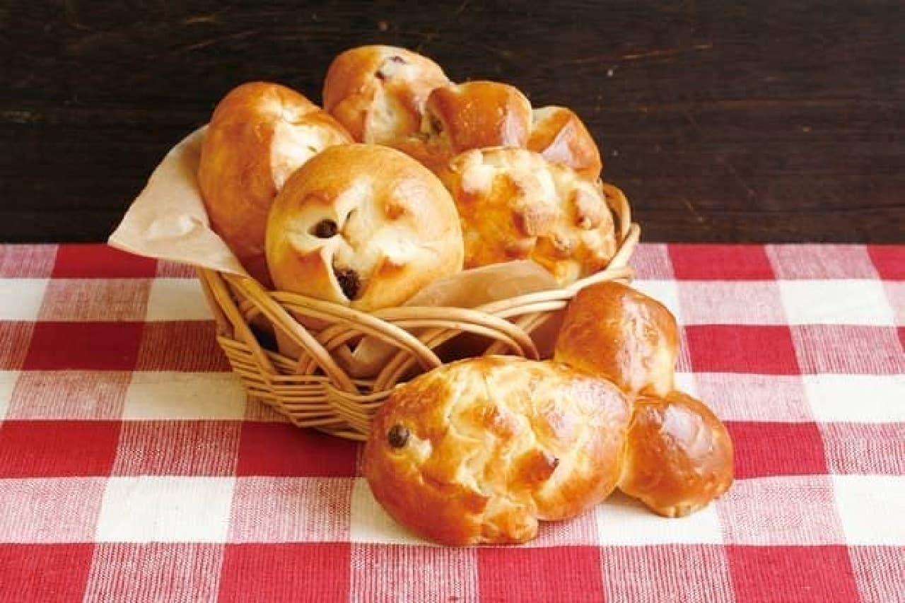 プチパン6種の「パンマルシェセット」
