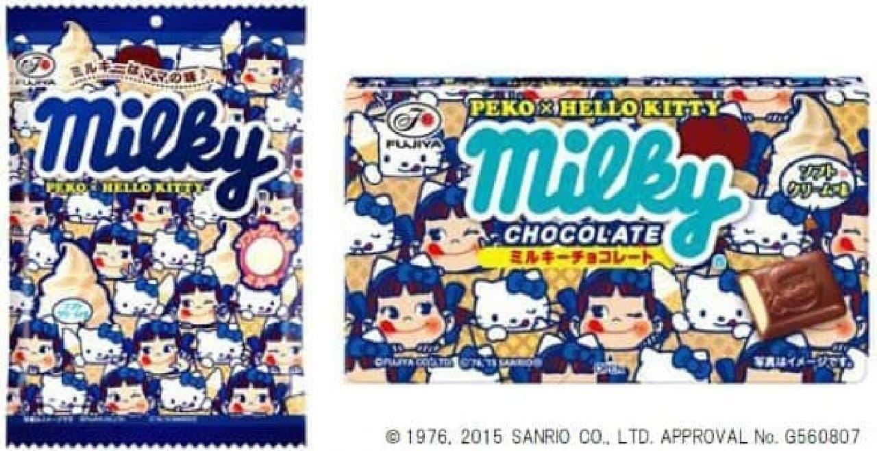 ミルキー&ミルキーチョコレートも