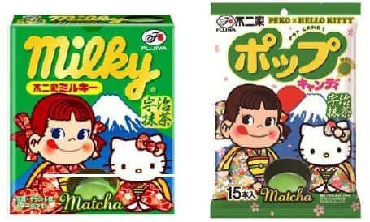 """""""抹茶ミルク""""をイメージしたキャンディ2種も"""
