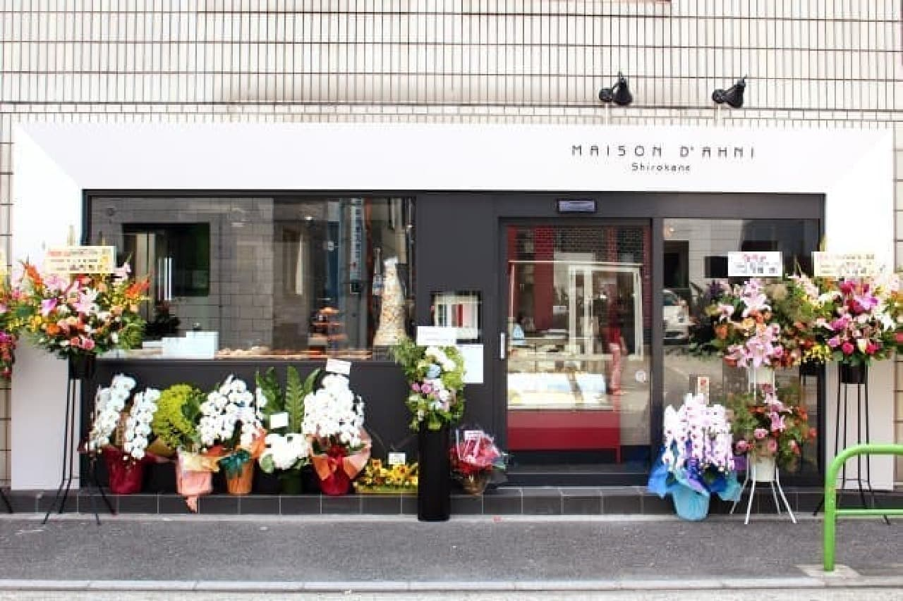 店舗デザインは、パリ在住のデザイナーが手がけたのだとか
