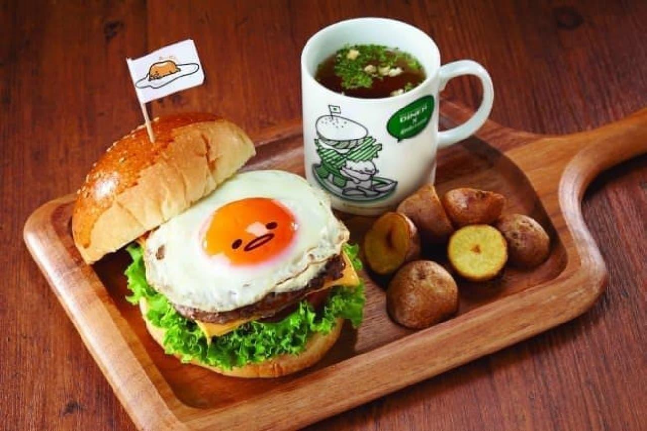 ぐでたまカフェが千葉パルコに登場!