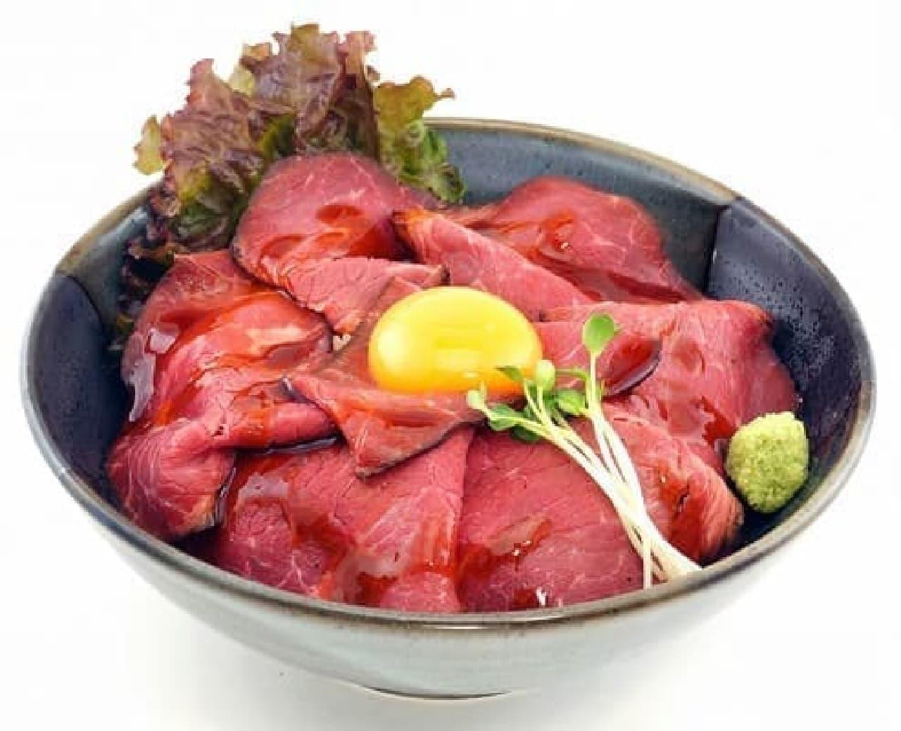 激熱真田幸村のローストビーフ丼