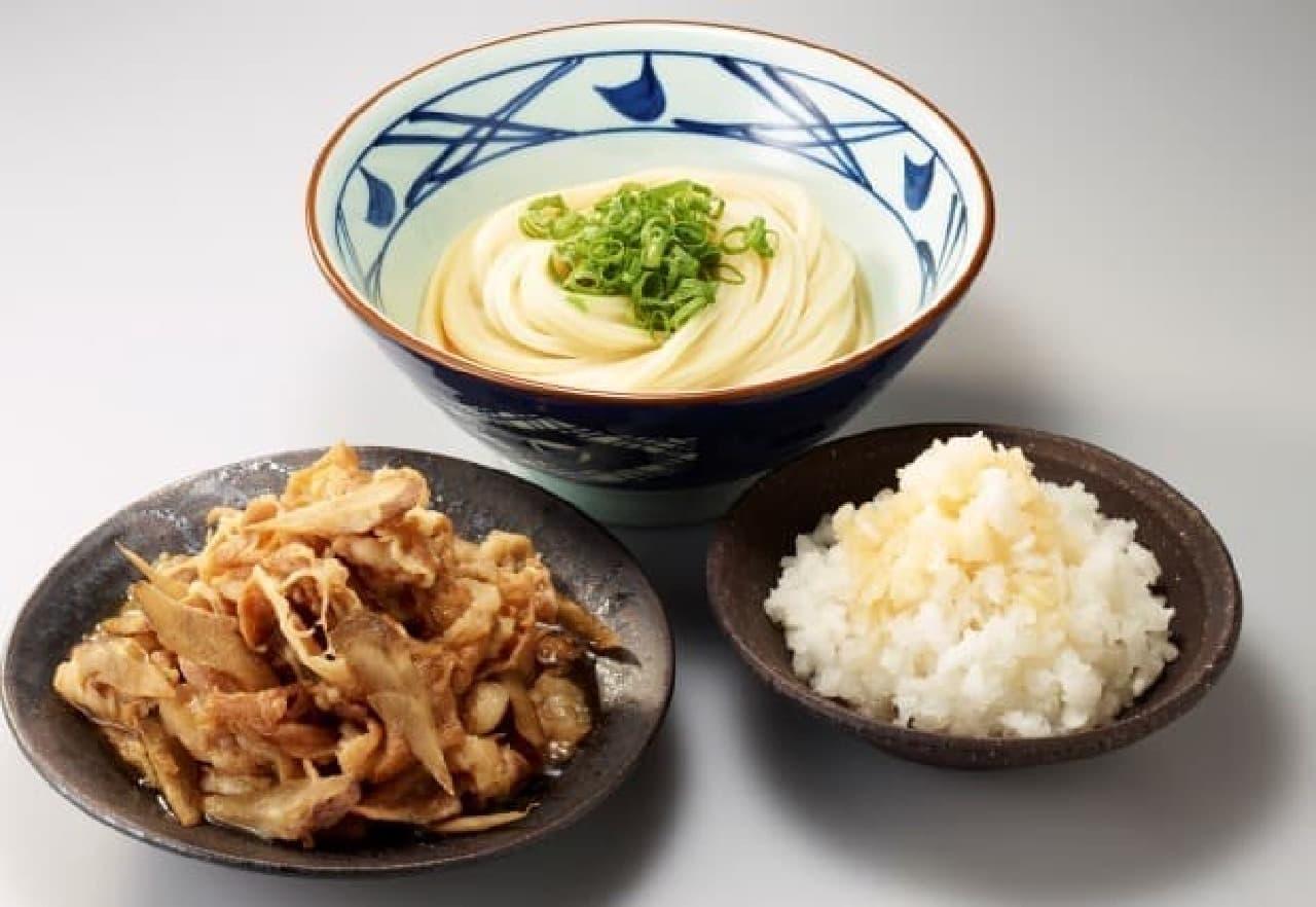 新メニュー「肉おろしぶっかけ」が無料で食べられる!?