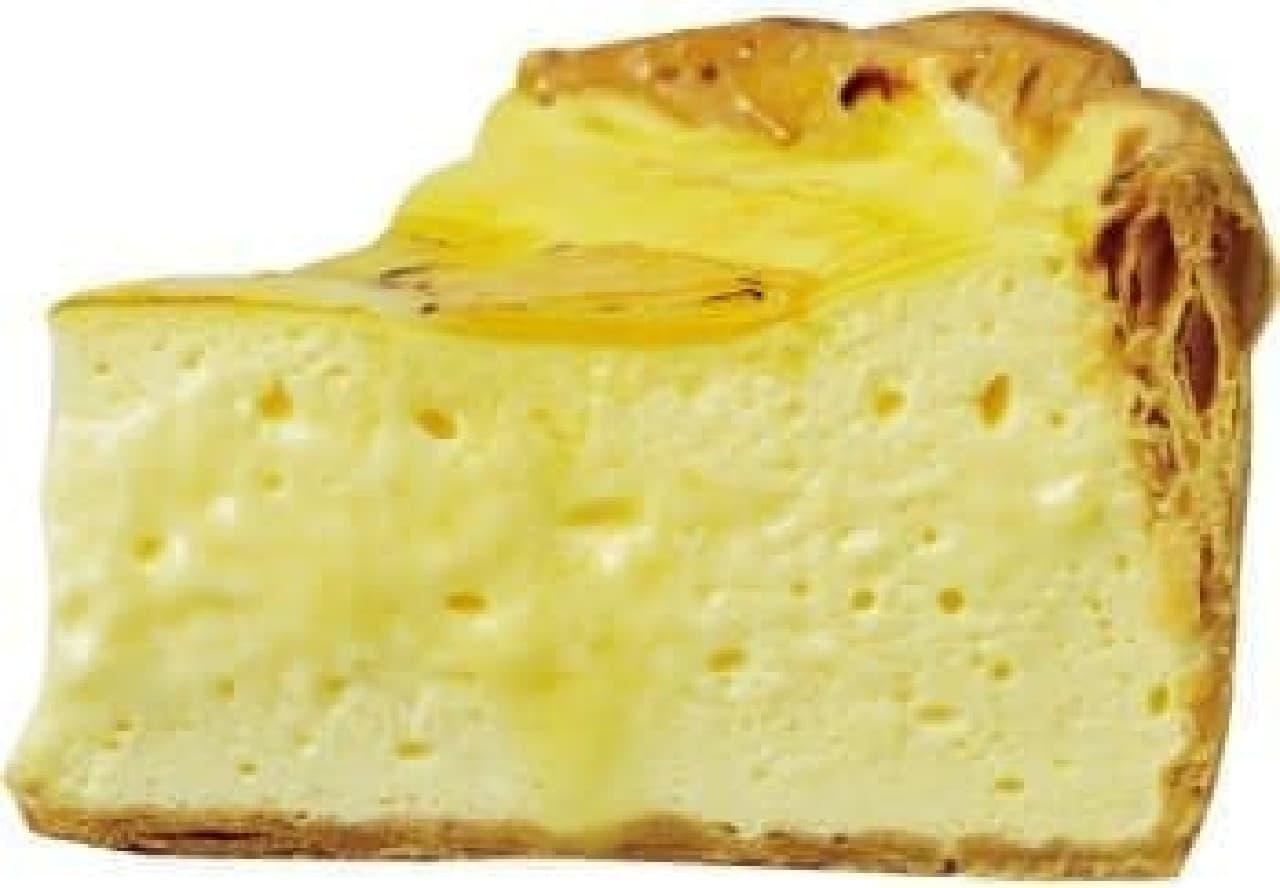 濃厚チーズとみずみずしいパイナップルのマリアージュ