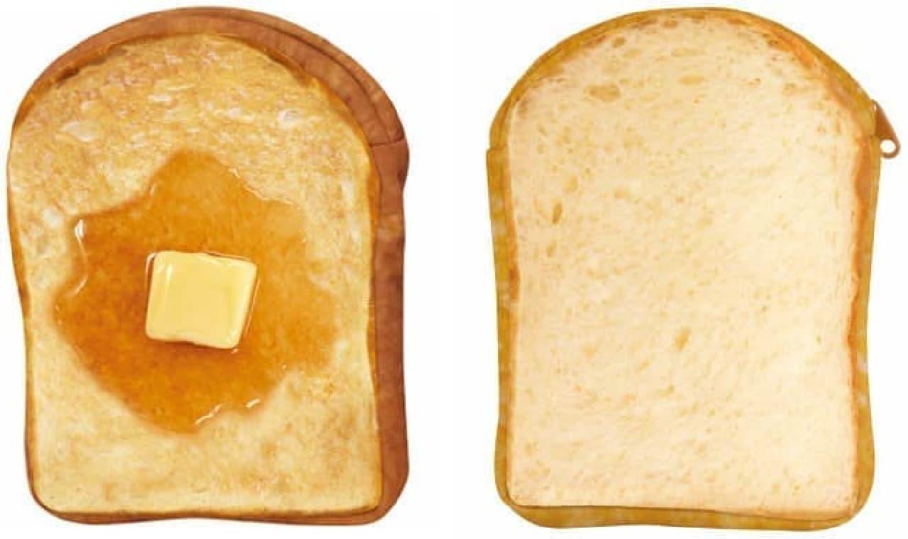 左から「ハニートースト」「食パン」