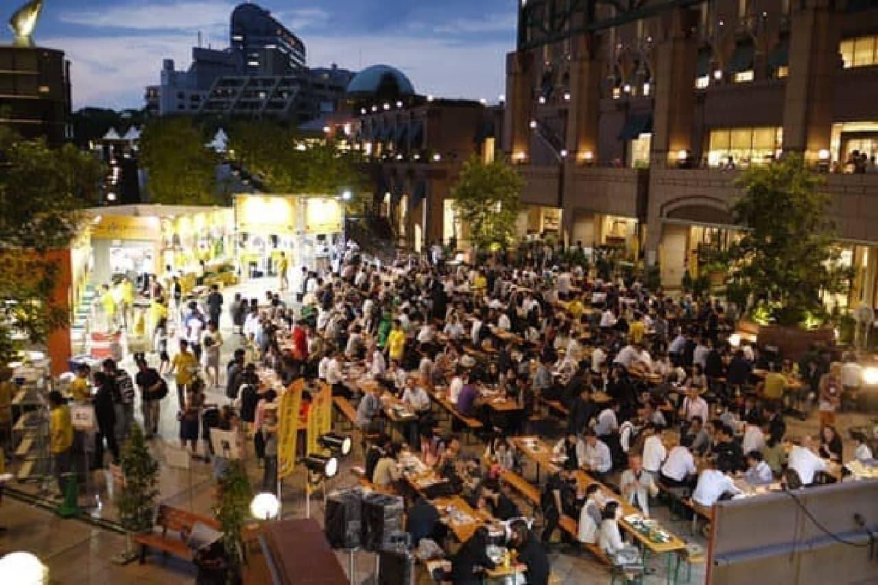 初秋の空の下、今年も「恵比寿麦酒祭り(えびすビールまつり)」が開催される