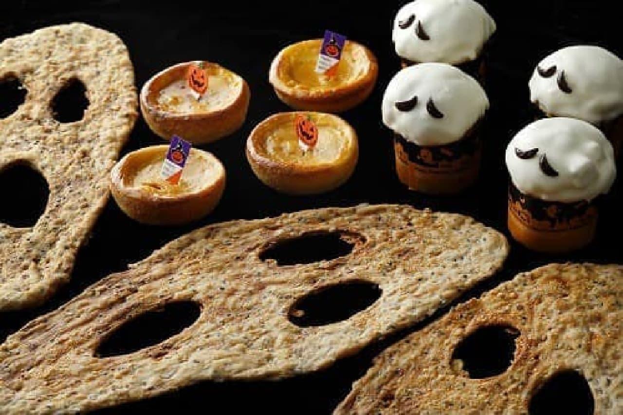 ハロウィン限定パンも!