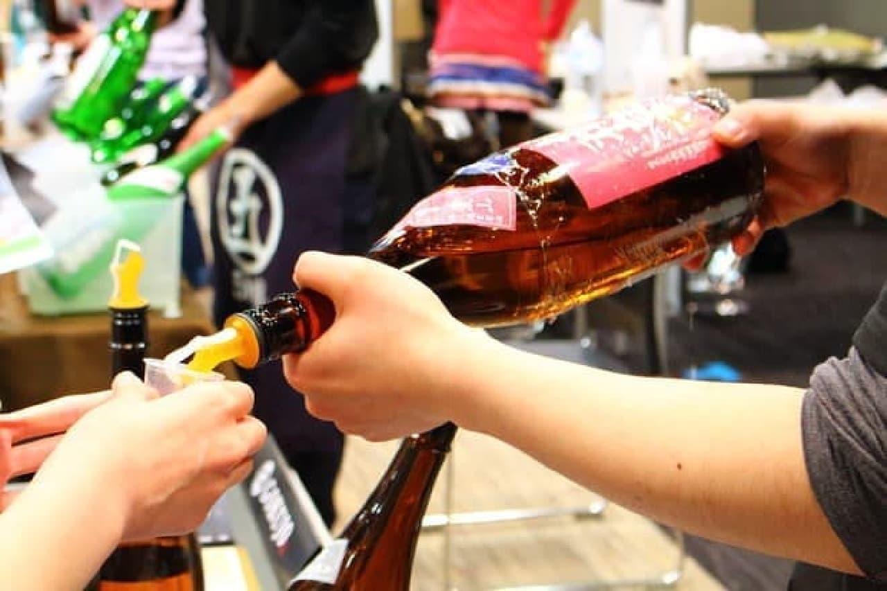 人気日本酒イベントに潜入