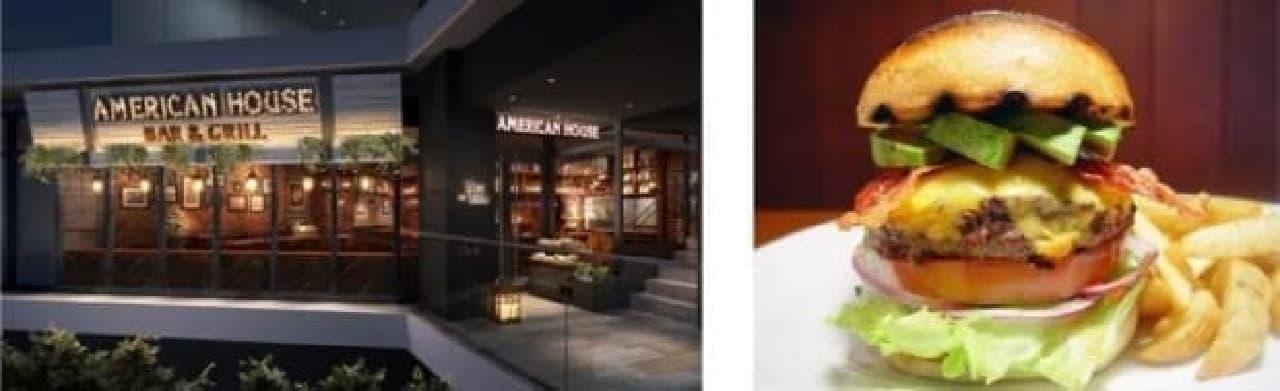 ザ・アメリカン!なハンバーガーやステーキが食べたい