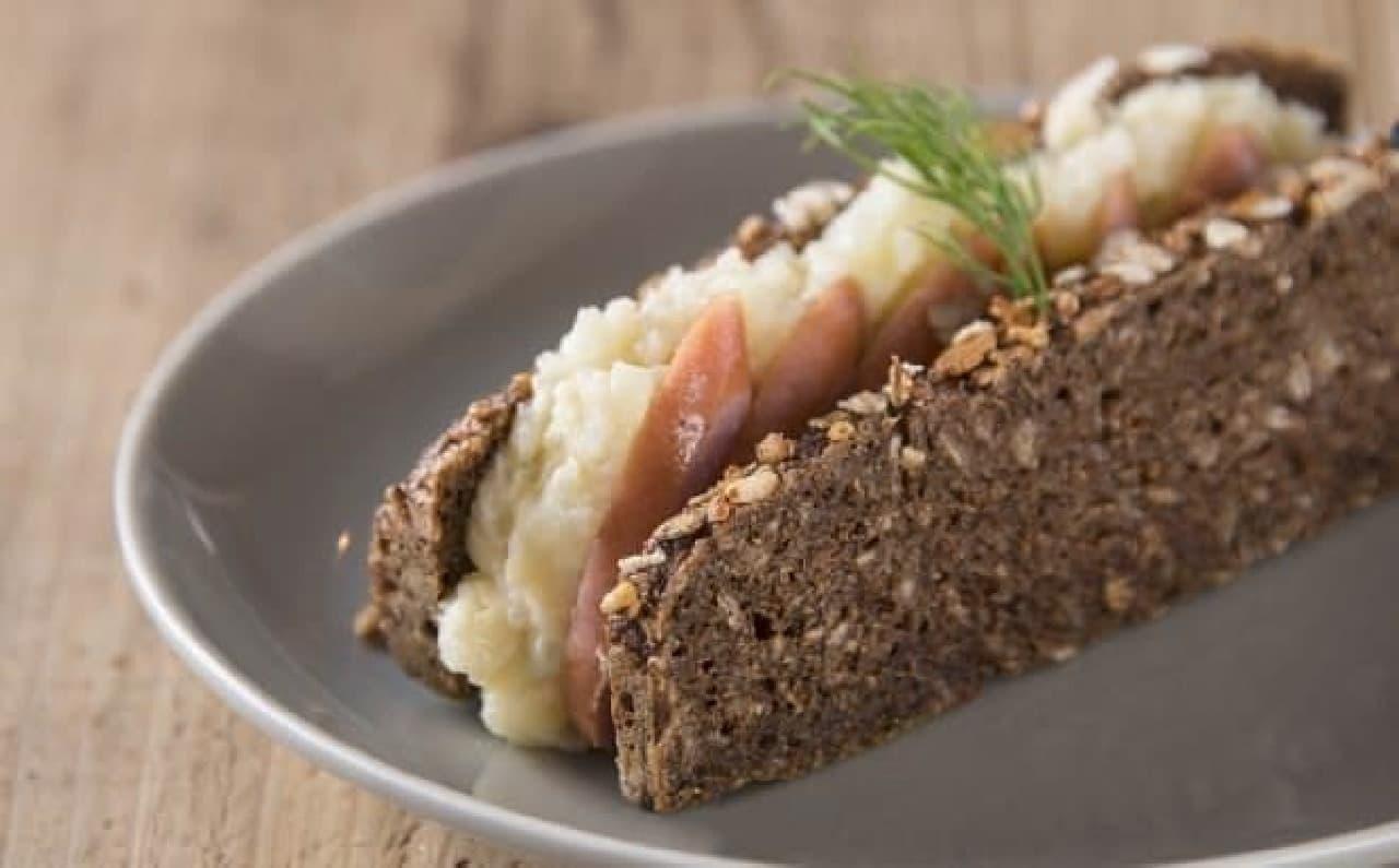ドイツの食文化をアレンジしたグルメサンドウィッチ(イメージ)