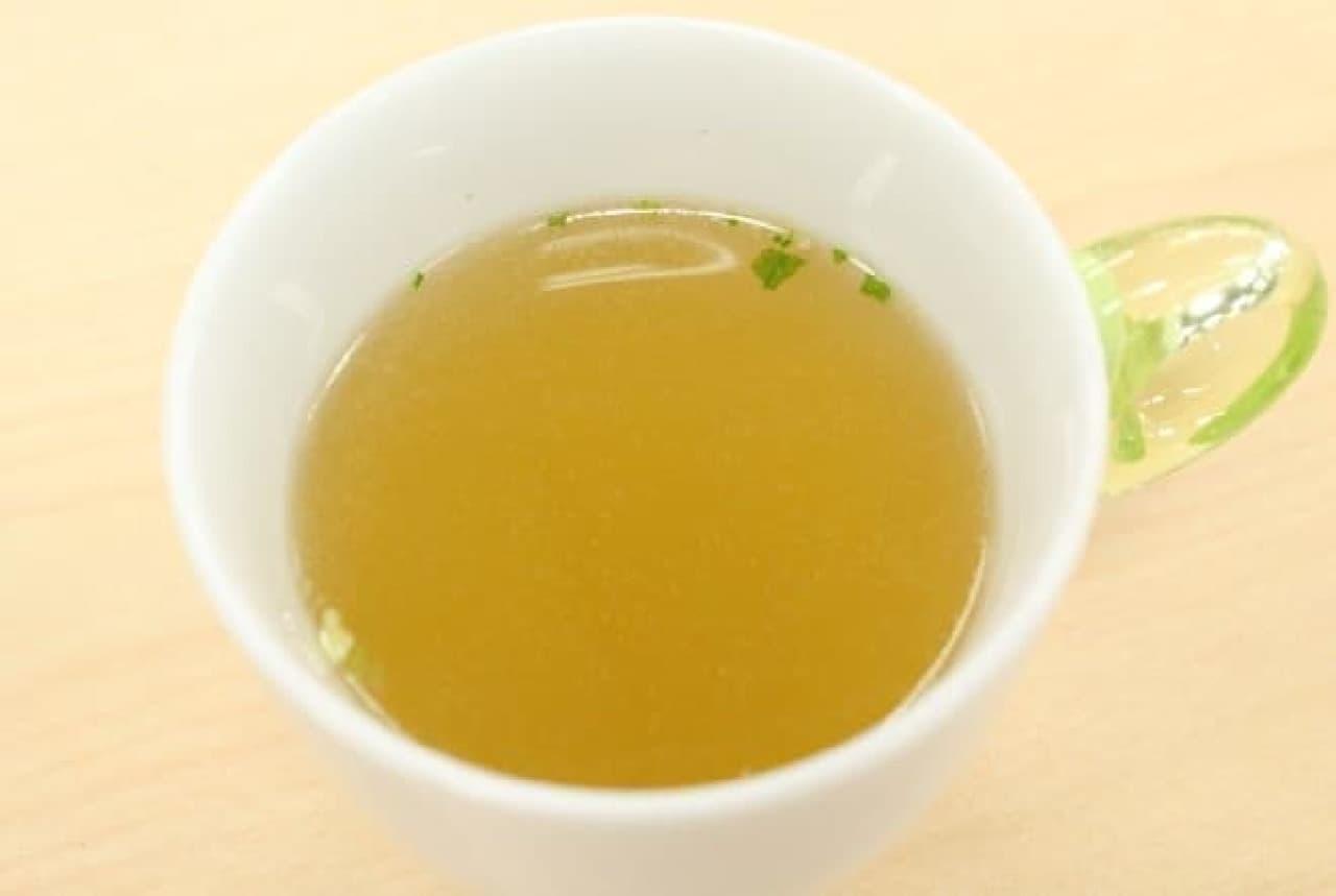 胡椒の効いた中華スープ