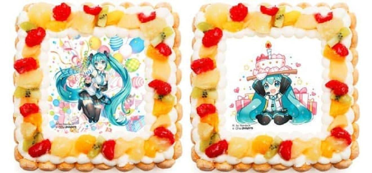 初音ミク誕生祭をケーキでお祝い!