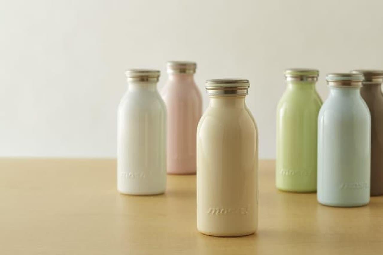 ミルク瓶みたいな携帯ボトル登場!
