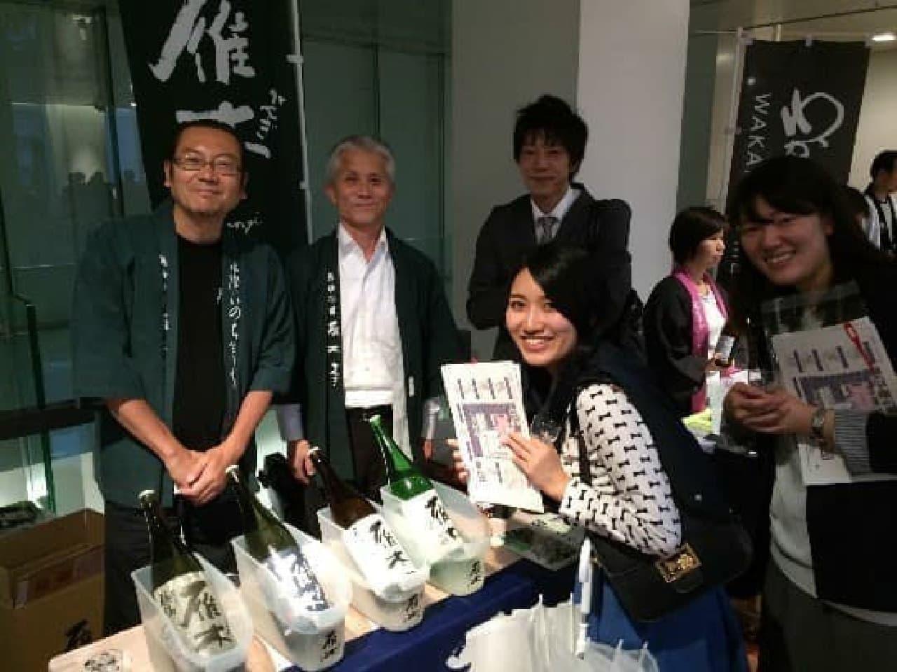 女性向け日本酒イベント「郷酒フェスタ」が再来!