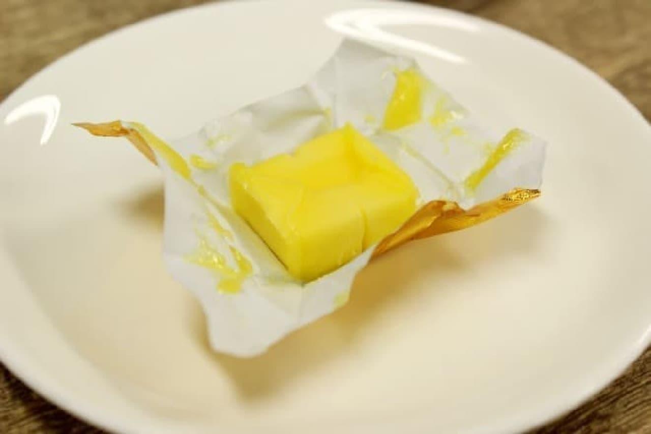 いつものバターと変わらないビジュアル